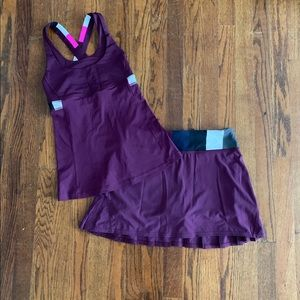 Lululemon tennis set